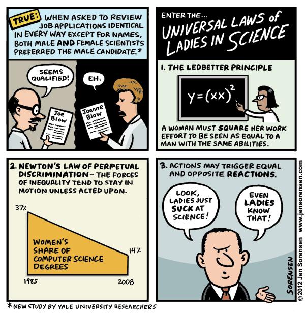 Jen Sorensen Lady Science