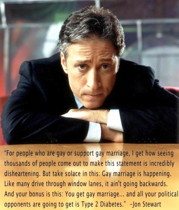 Best Jon Stewart Quotes Gay Rights