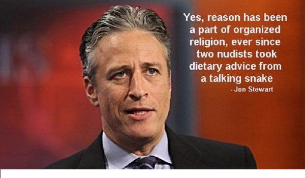 Jon Stewart On Reason and Religion