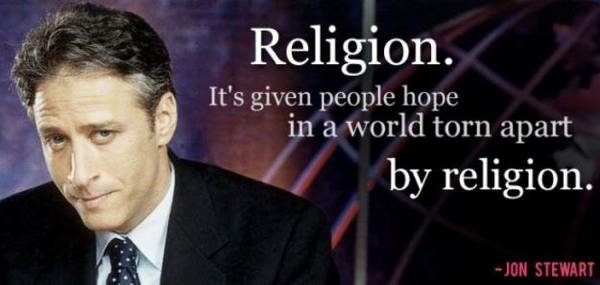 Jon Stewart on a World of Religion