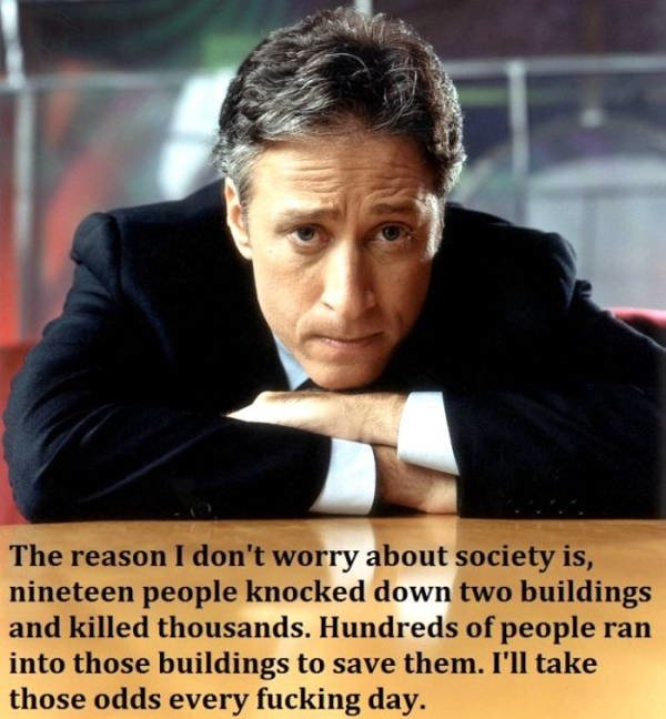 Best Jon Stewart Quotes on September 11