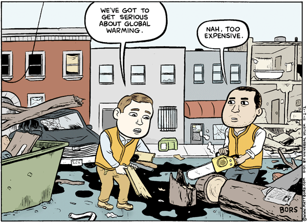 Matt Bors Cartoons Global Warming