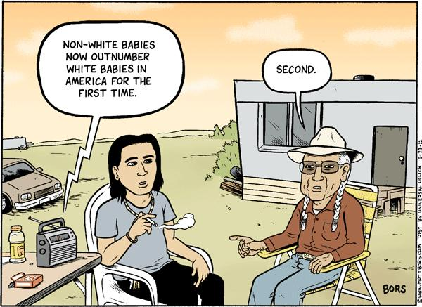 Matt Bors Cartoons Minorities