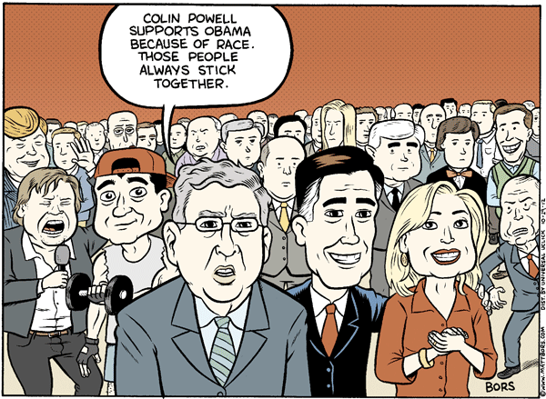Matt Bors Cartoons Race Relations
