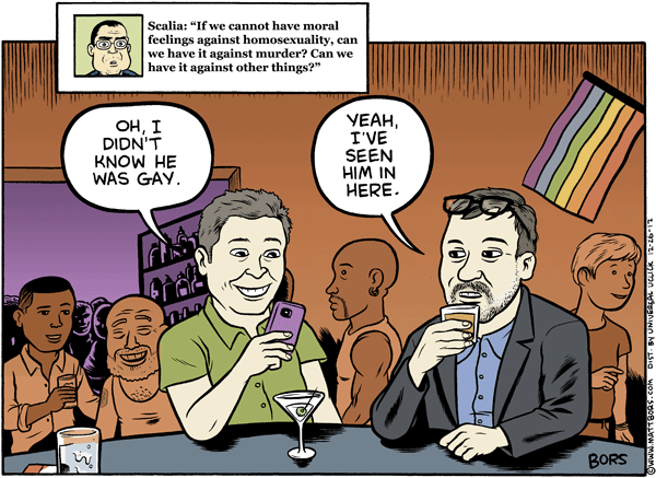 Matt Bors Cartoons Scalia