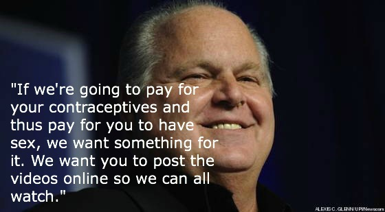 Rush Limbaugh Quotes Contraception