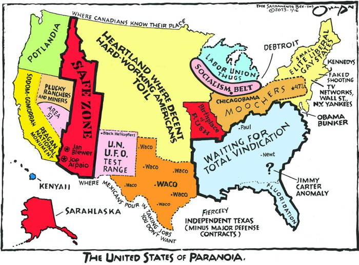 GOP Map Of America