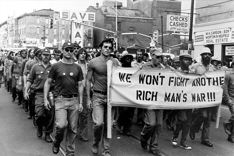 We Won't Fight Rich Man's War