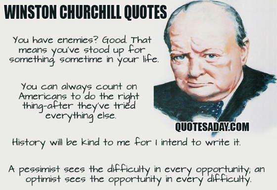 Best Theories Winston Churchill