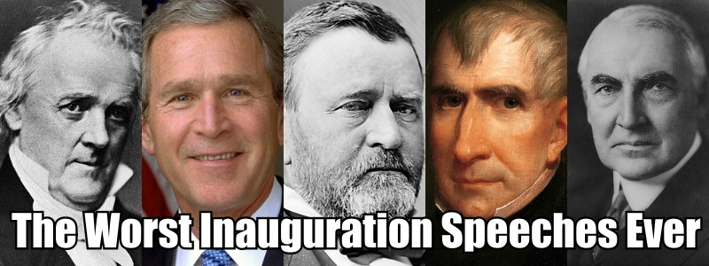 Worst Inauguration Speeches Ever