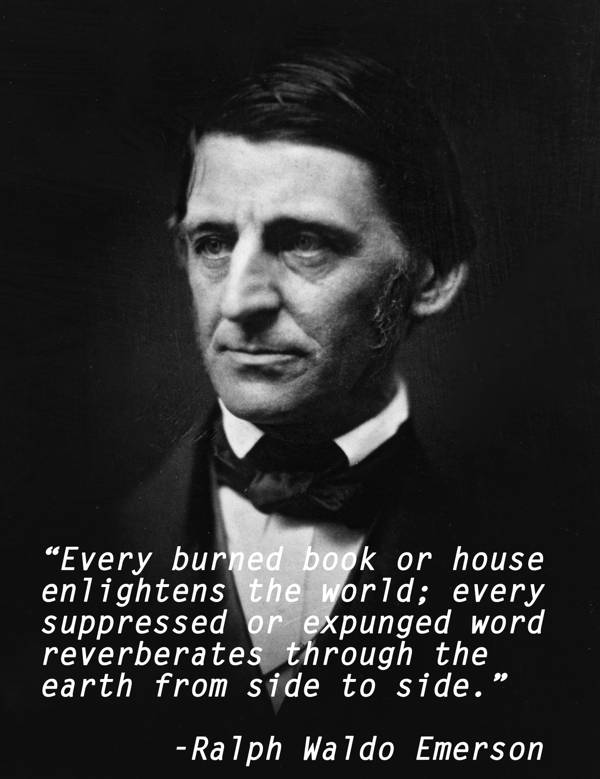 Censorship Quotes Emerson