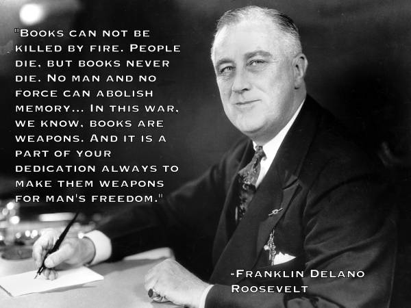 Censorship Quotes FDR