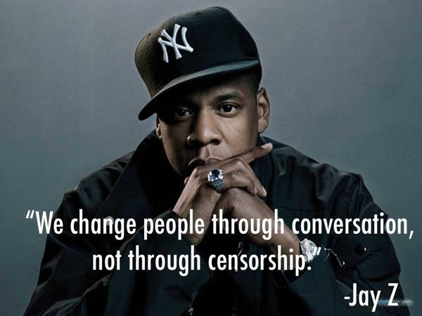 Censorship Quotes Jay Z