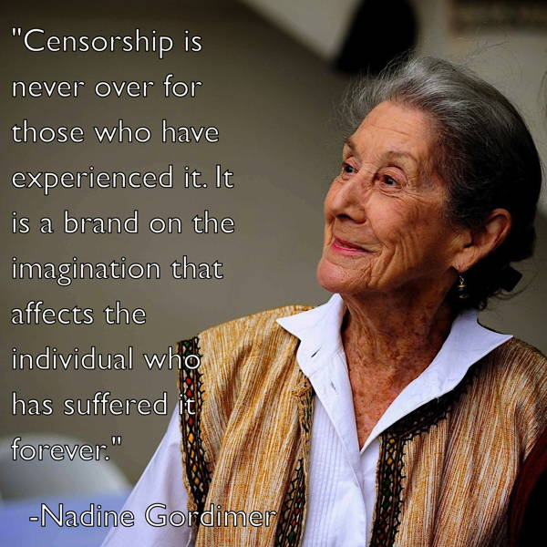 Censorship Quotes Gordimer