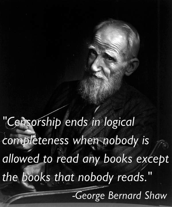Censorship Quotes Shaw