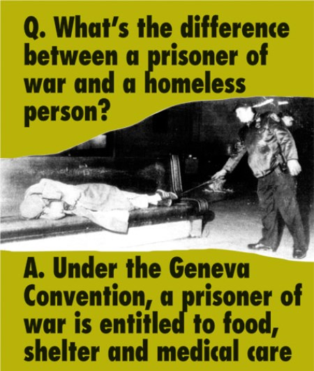 Difference Between Homeless And Prisoner Of War