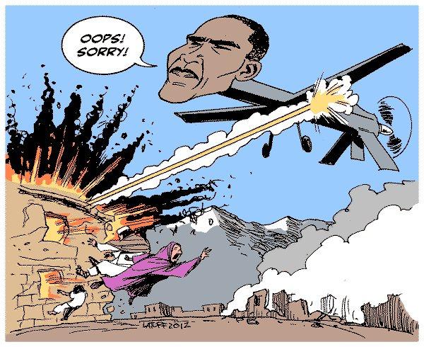 Drone Cartoons Afghanistan