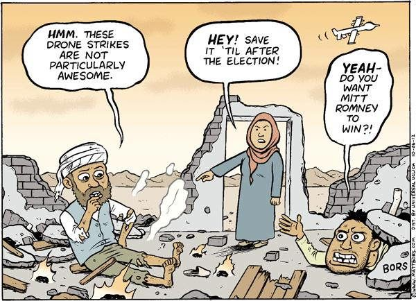 Drone Cartoons Election