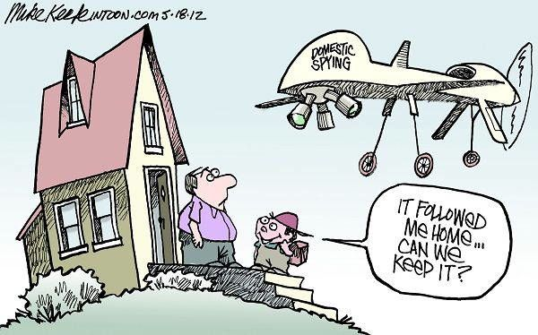 Drone Cartoons Home