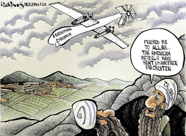 Drone Cartoons Recruiter