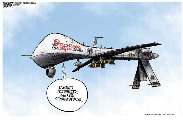 Drone Cartoons Targets