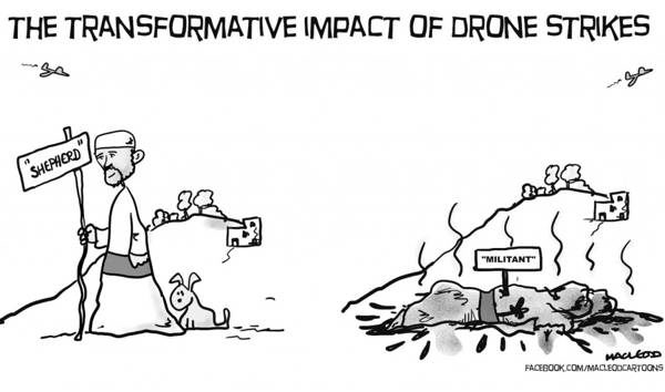Drone Cartoons Transformations