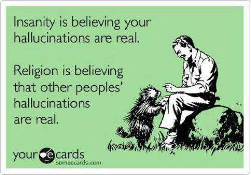 Best E Cards Religion Hallucinations
