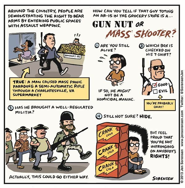 Gun Nut Or Mass Shooter
