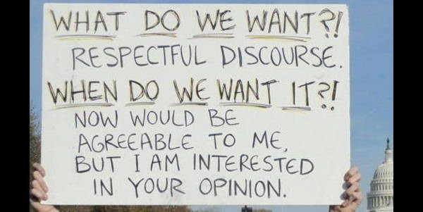 hilarious protest signs discourse The Most Hilarious Protest Signs Ever
