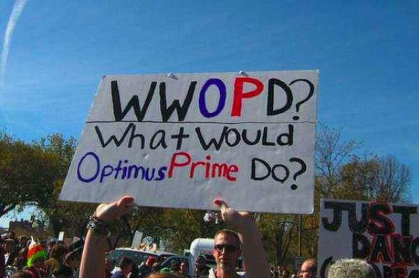 Hilarious Protest Signs WWOPD