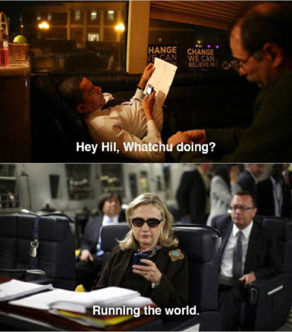 hillary obama text A Message To The Newly Retired Hillary Clinton