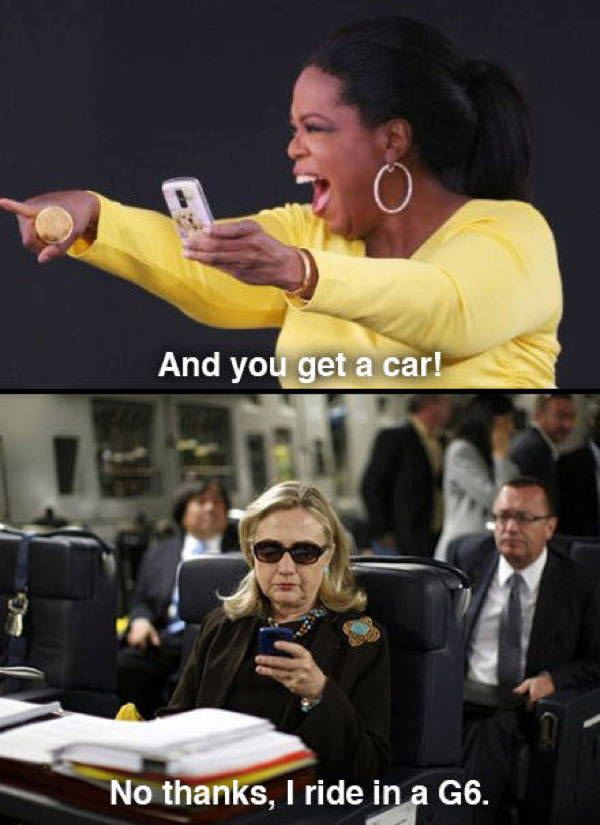 hillary oprah text A Message To The Newly Retired Hillary Clinton