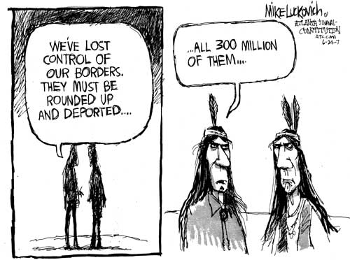 Illegal Immigration Comic