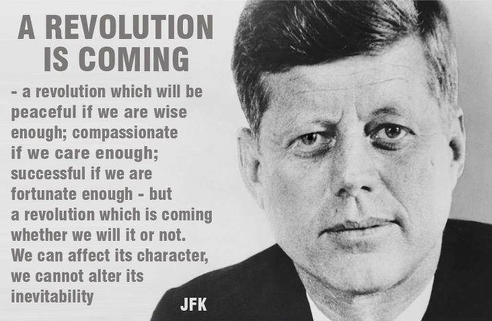 Post image for JFK On Coming Revolutions