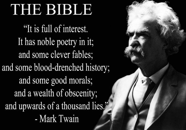 mark twain quotes bible Mark Twains Most Memorable Quotes