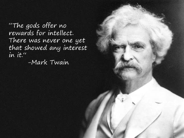 Mark Twain Quotes Intellect
