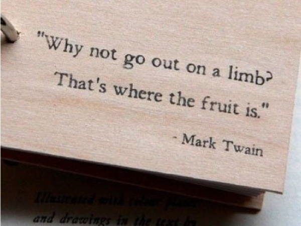 Mark Twain Quotes Limbs