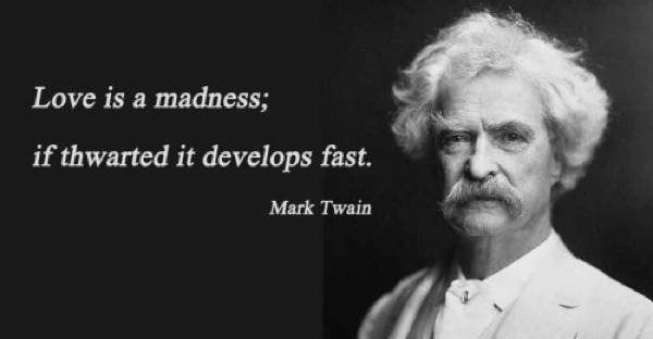 Mark Twain Quotes Love
