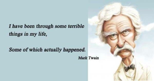 Mark Twain Quotes Terrible Things