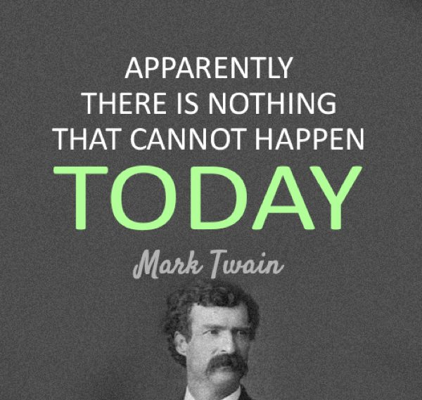 Mark Twain Quotes Today