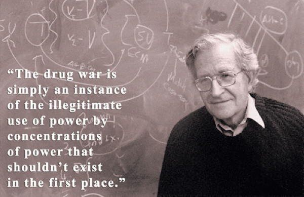 Noam Chomsky Quotes Drug War