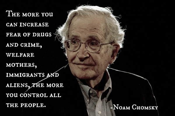 Noam Chomsky Quotes Fear