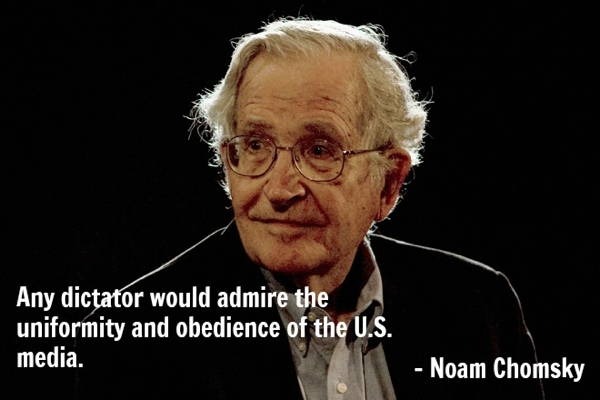 Noam Chomsky Quotes Media