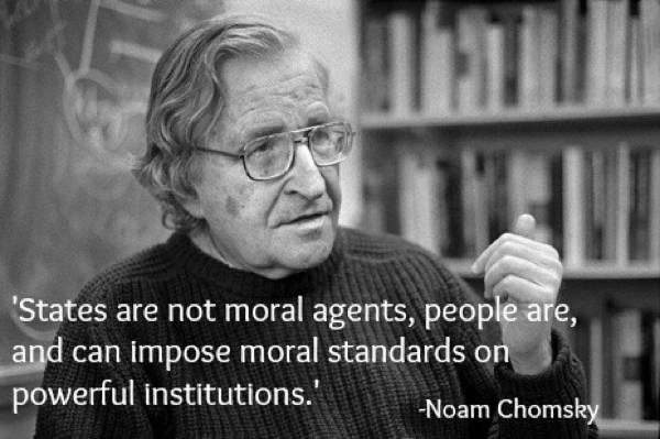 Noam Chomsky Quotes Moral Agent