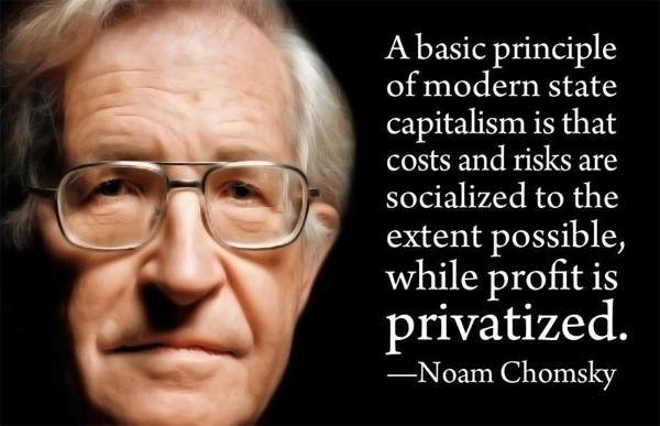 Noam Chomsky Quotes State Capitalism