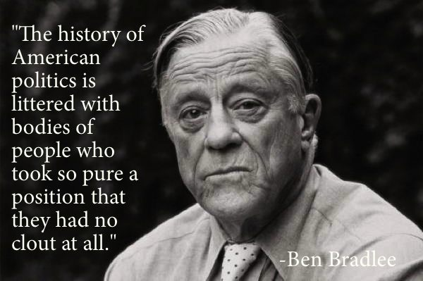politics quotes ben bradlee The Best Non Jon Stewart Quotes About (Mostly) American Politics