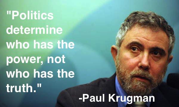 Politics Quotes Krugman