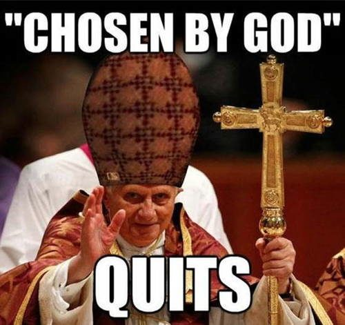 Theories Pope Resignation