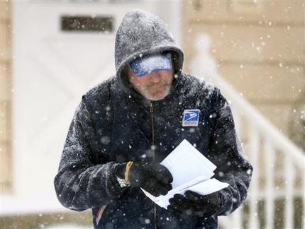 Postal Service Killed