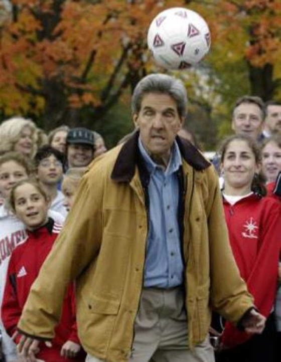Secretary Awkward Soccer